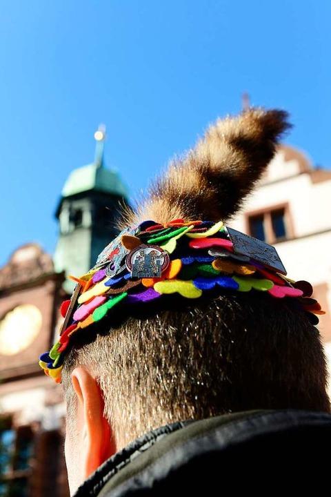 Die Fasnetrufer verleihen jedes Jahr i...nelle Katzenschwanzmütze (Archivbild).  | Foto: Ingo Schneider