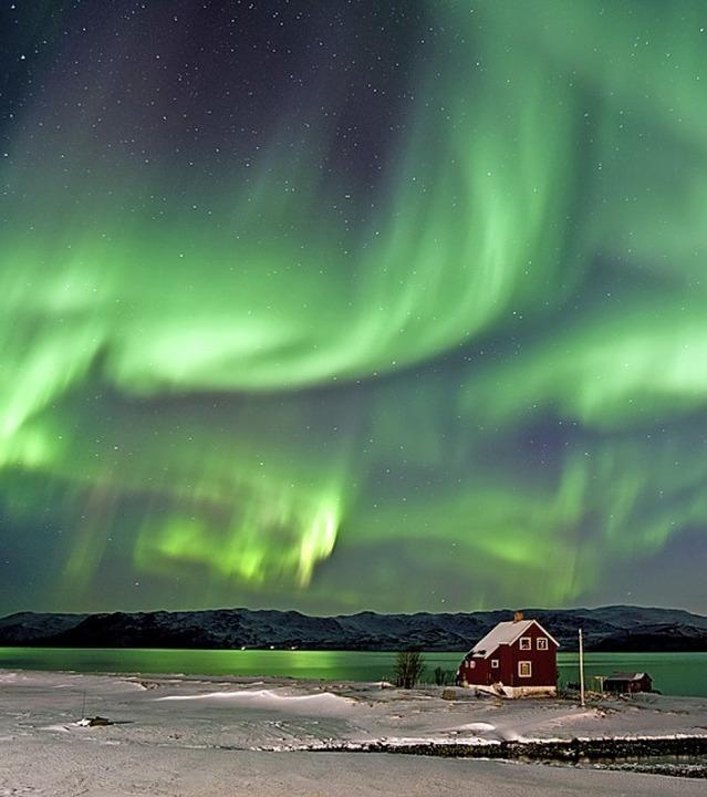 Nordlichtspektakel in Schweden   | Foto: Bernd Römmelt