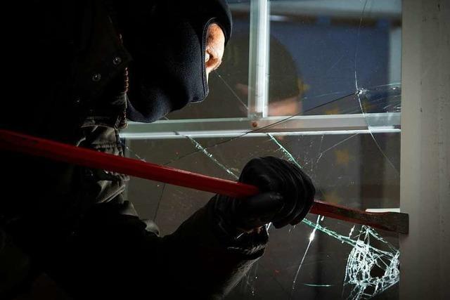 Einbrecher lösen Alarm aus und verschwinden