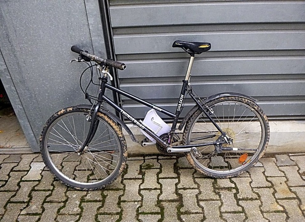 Wem gehört dieses Rad?   | Foto: pol