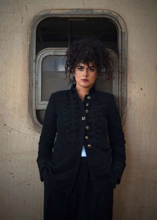 Am Zug: Dina El Wedidi  | Foto: Kirkelig Kulturverksted