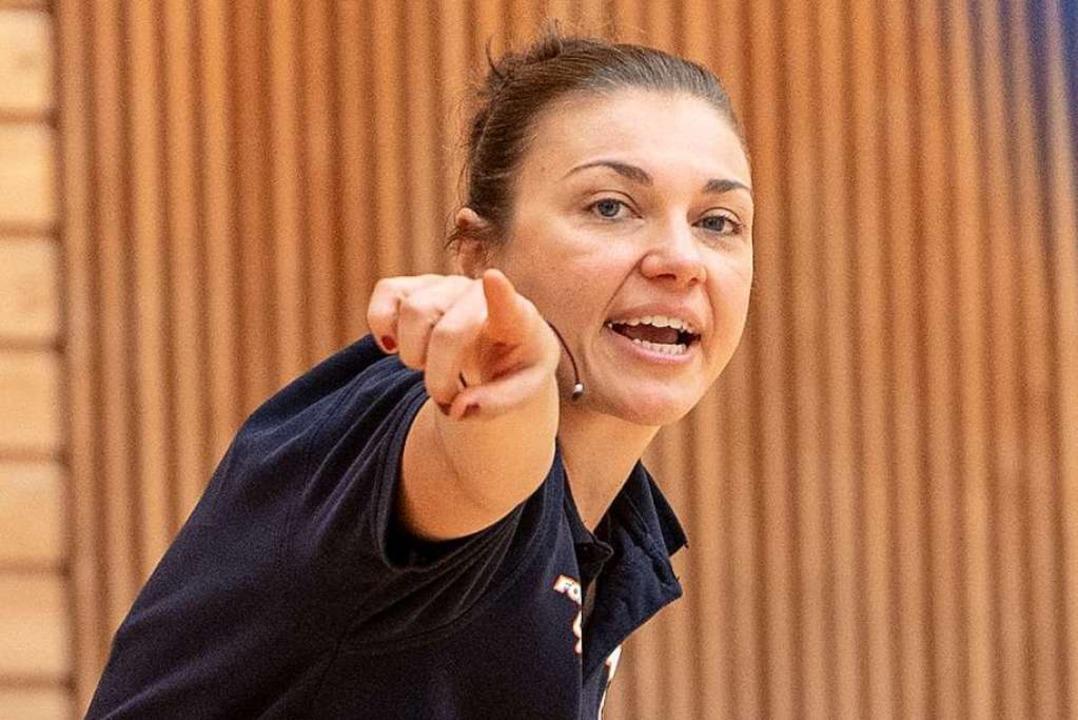 USC-Trainerin Hanna Ballhaus   | Foto: Seeger