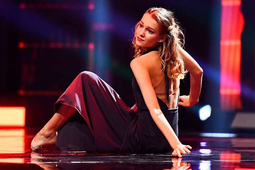 Die Lahrerin auf der Bühne  | Foto: ProSieben