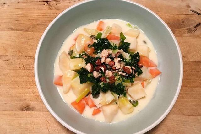 Dieses Gemüse-Potpourri ist kalorienarm – aber nichts für eilige Köche