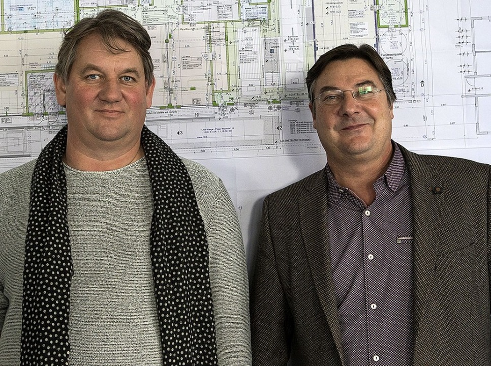 Arbeiten künftig zusammen: Martin Buhl und Udo Fischer  | Foto:  SD