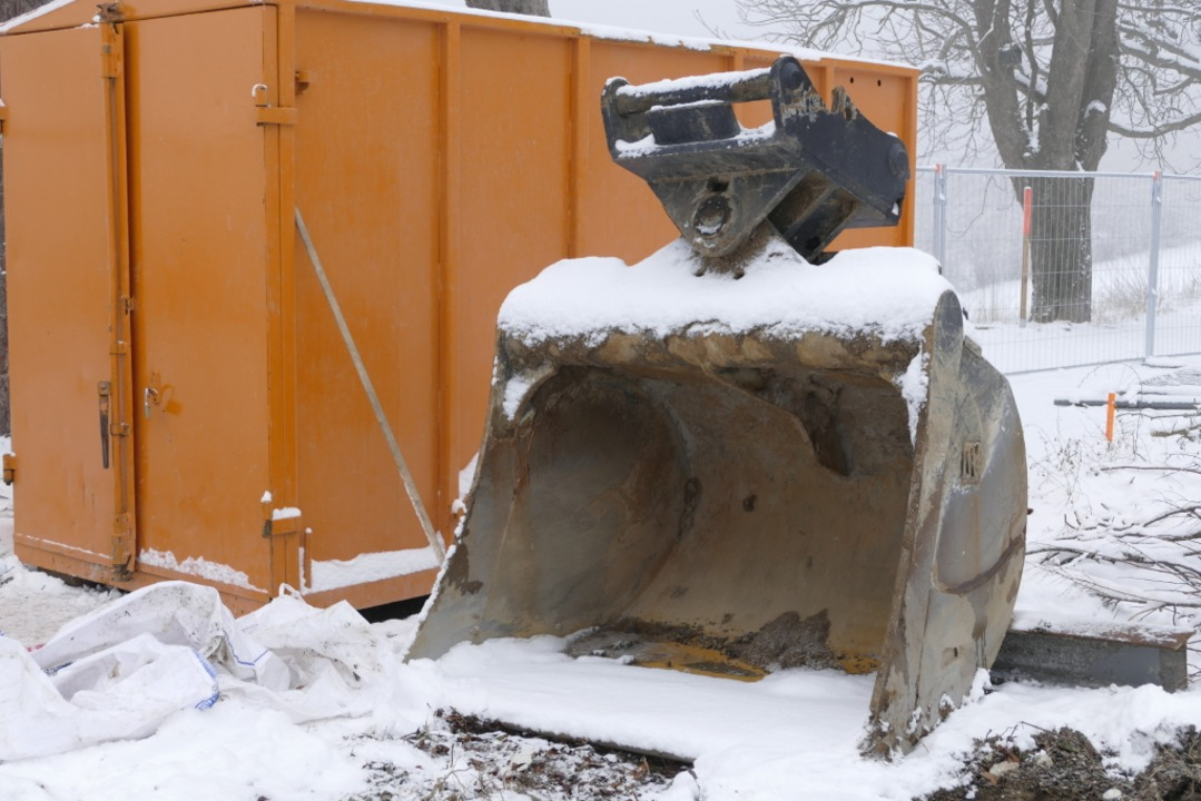Das Traditionshotel Luisenhöhe wird abgerissen.  | Foto: Nikola Vogt