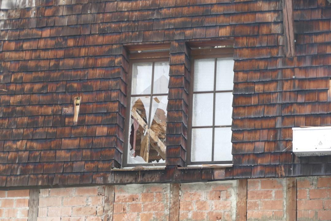 Typisch für das Hotel Luisenhöhe waren die Holzschindeln.  | Foto: Nikola Vogt
