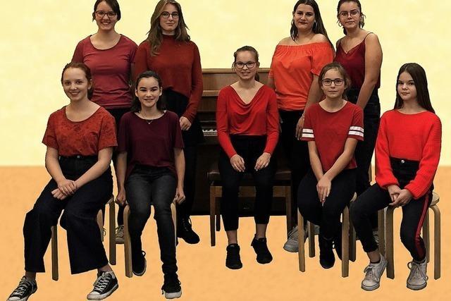 Jugenchor Power of Singers in Müllheim