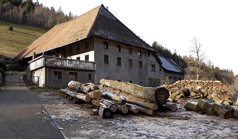 Wie man  sich einen echten Schwarzwald... auch immer vorm und rund ums Haus .    | Foto: Roland Gutjahr (1)/Landesamt für Geoinformation (1)