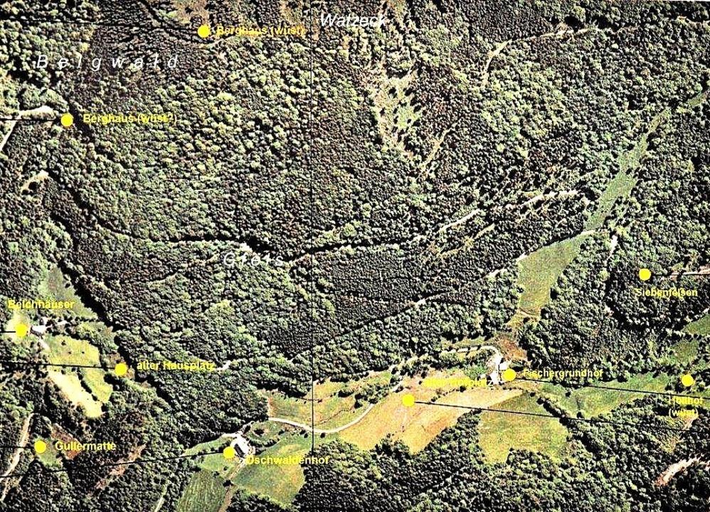 Von der Gegend rund um den Fischergrun...und Landentwicklung Baden-Württemberg.  | Foto: Landesamt
