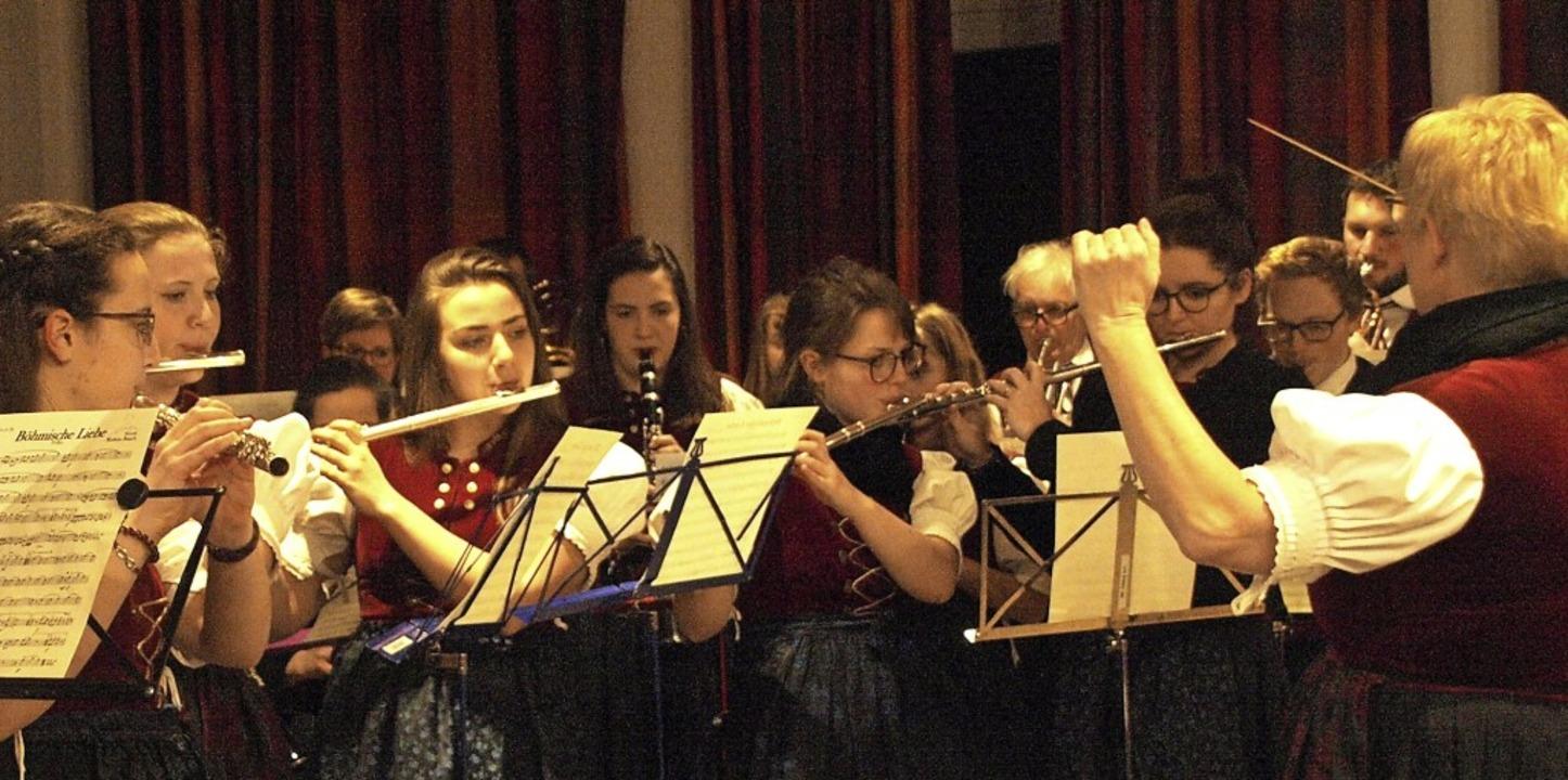 44 Aktive zählt der Musikverein Urberg aktuell  | Foto: Karin Stöckl-Steinebrunner