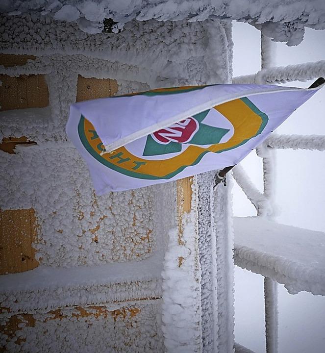 Die Bergwachthütte war vom Stromausfall betroffen, aber der Funk lief.    Foto: Christian Ringwald