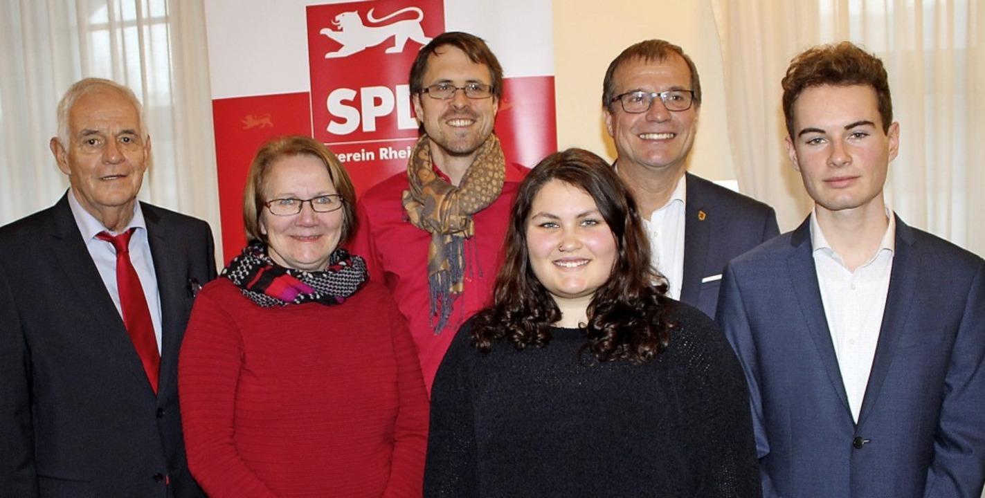 Sie machten den SPD-Mitgliedern Mut fü...ito, Klaus Eberhardt und Fritz Kaspar.  | Foto: Rolf Reißmann