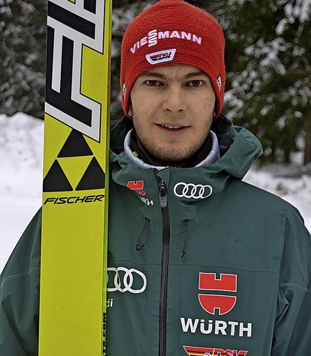 Kombinierer Jonas Maier vom SC Waldau ...am Sonntag in Schonach auf Rang sechs.