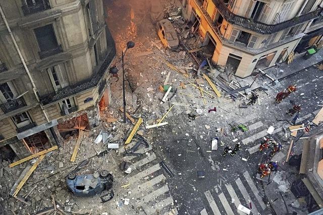 Vier Tote durch Explosion in Paris