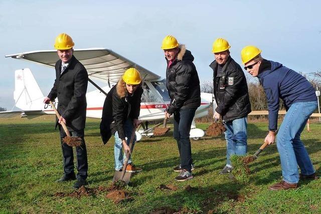 Die Sportflieger in Eschbach bekommen ein neues Clubheim
