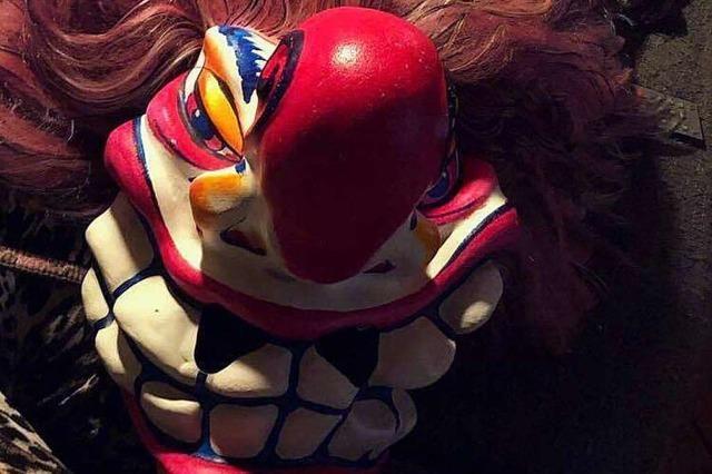 Maske der Pfaffenweiler Schnecke-Bläärer nach Marcher Umzug gestohlen