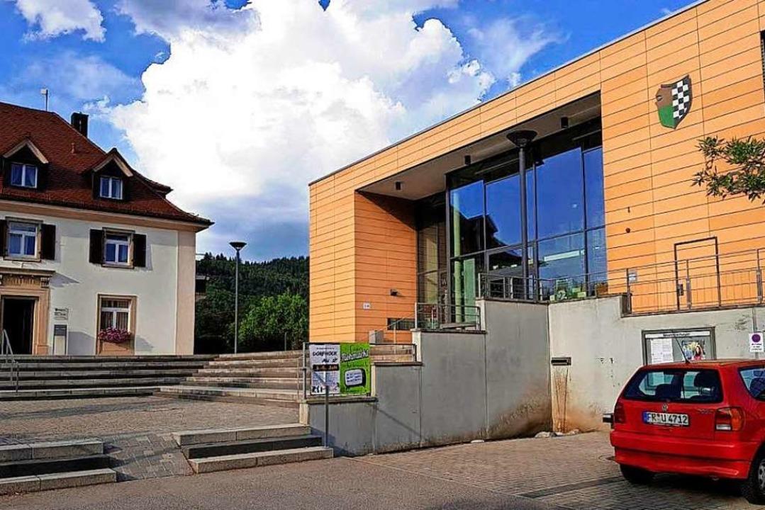 Das Bürgerhaus in Au.  | Foto: Julius Wilhelm Steckmeister