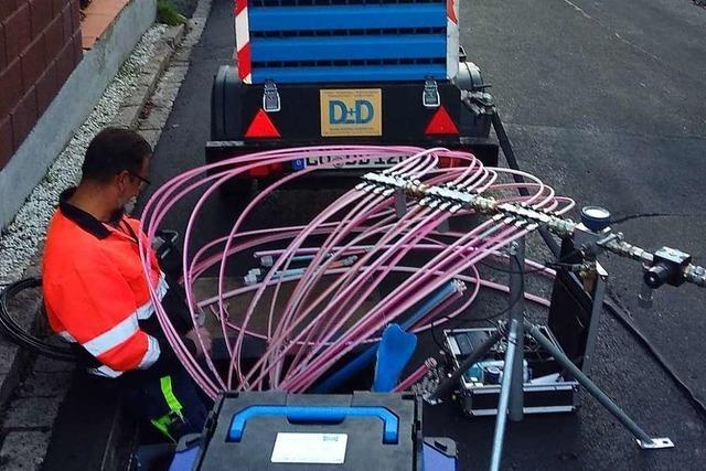 Der Landkreis Lörrach gibt beim Breitbandausbau weiter Gas