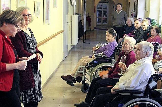 Senioren stellen Kunstwerke aus