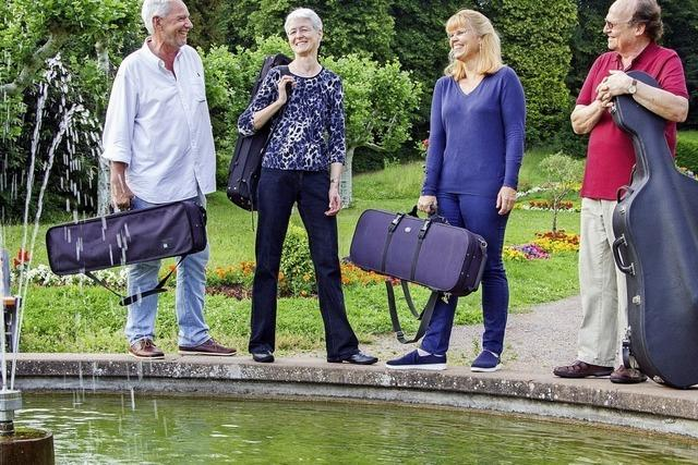 Das Humboldt-Quartett spielt in Emmendingen