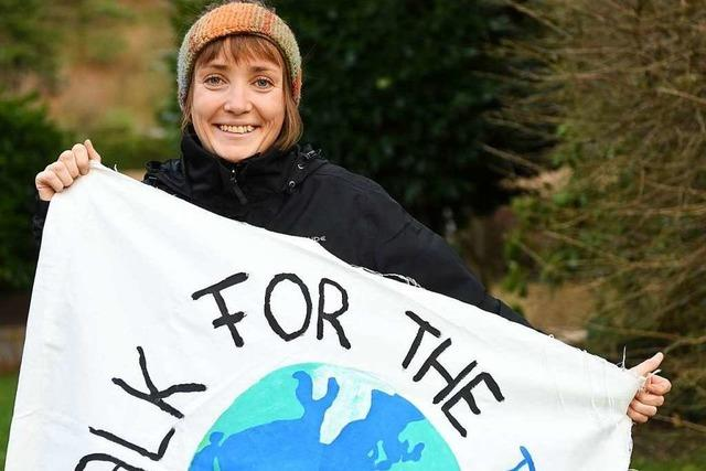 Ein Marsch durch Europa für den Klimaschutz