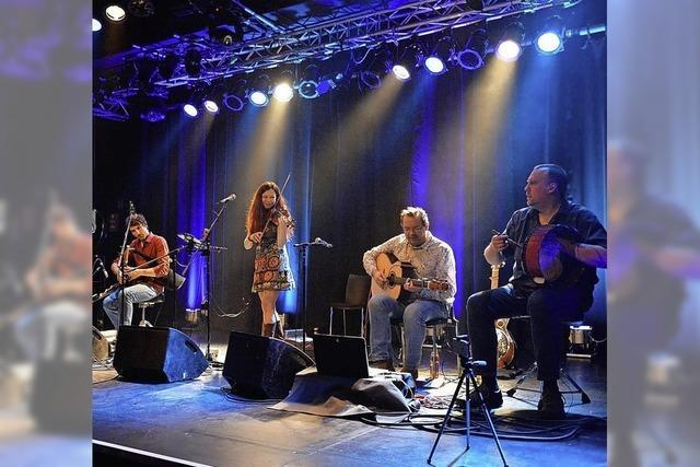 Celtic Folk mit Cara im Haus der Volksbildung in Weil am Rhein