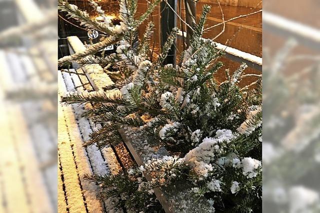 MARKTGEFLÜSTER: Leise rieselt der Schnee