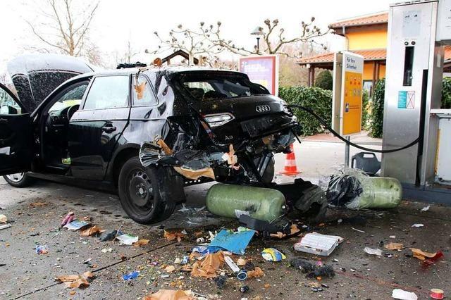 War das in Achern explodierte Erdgas-Auto schlecht repariert worden?