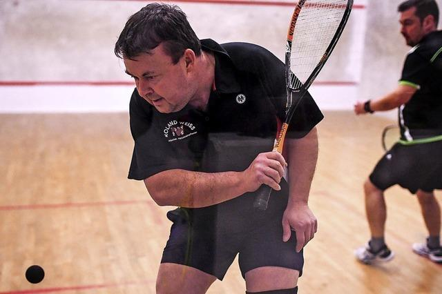 Freiburger Squashspieler an der Spitze