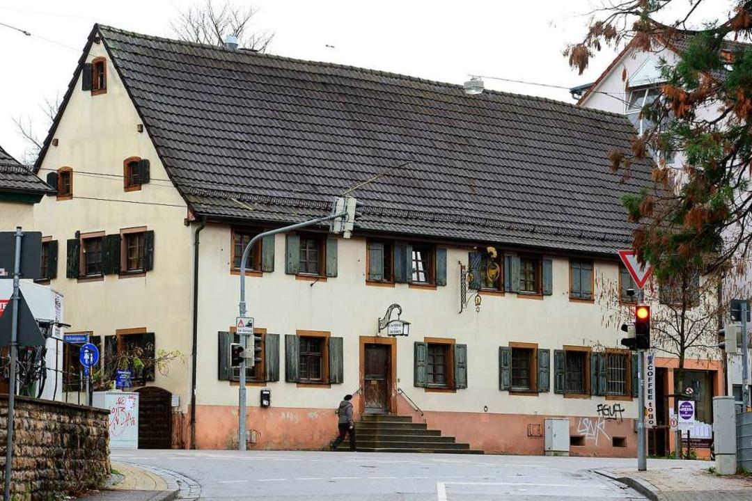 Seit 1874 befand sich das Gebäude im B...obilie nach BZ-Informationen verkauft.    Foto: Ingo Schneider
