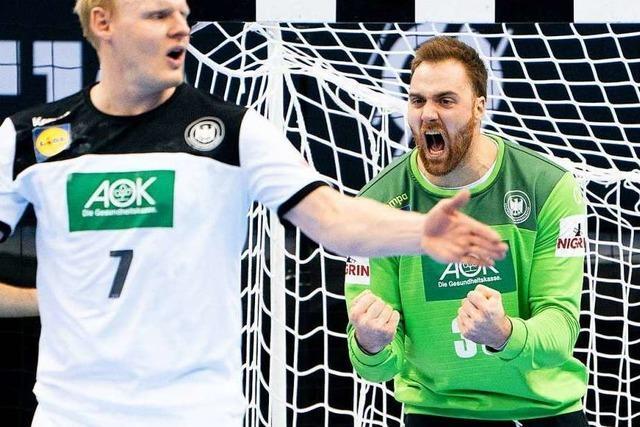 WM-Dämpfer für deutsche Handballer - Remis gegen Russland