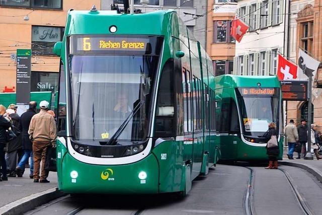 In Basel sollen drei neue Tramlinien entstehen