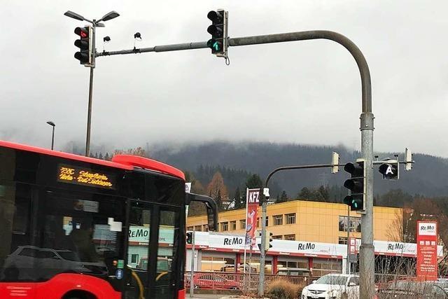 Kommt der Bus, wird's grün