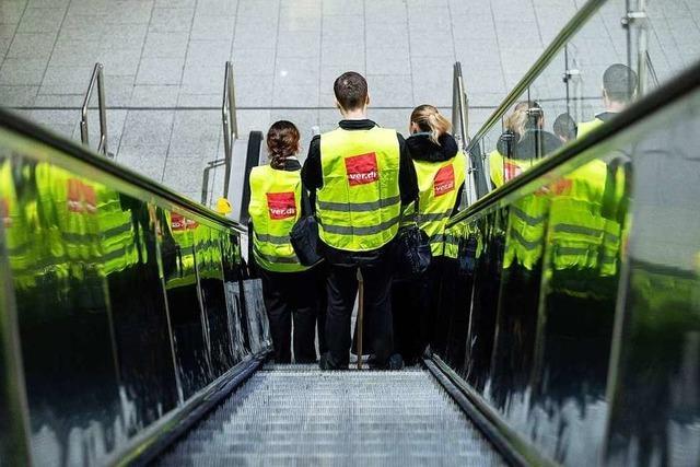 Warnstreik: Knapp die Hälfte der Flüge in Frankfurt gestrichen