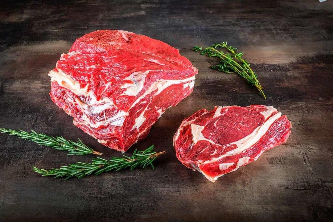 Ein perfekt gebratenes Rib Eye Steak macht jedes Essen zum Festmahl.  | Foto: Metzgerei Reichenbach