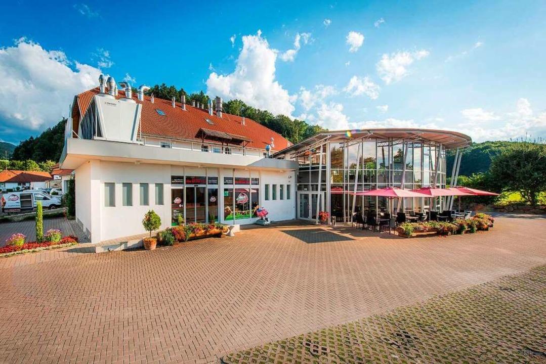 Die Hauptverkaufsstelle der Metzgerei Reichenbach am Ortseingang zum Glottertal.  | Foto: Metzgerei Reichenbach