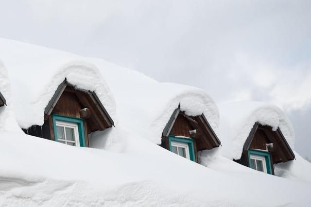 Wintersportler aus eingeschneiter Skihütte im Schwarzwald wieder frei