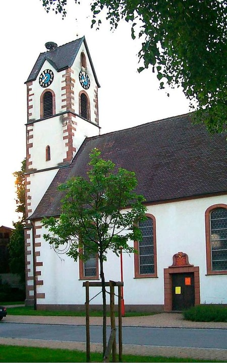 Die evangelische Kirche in Maulburg  | Foto: Walter Sautter