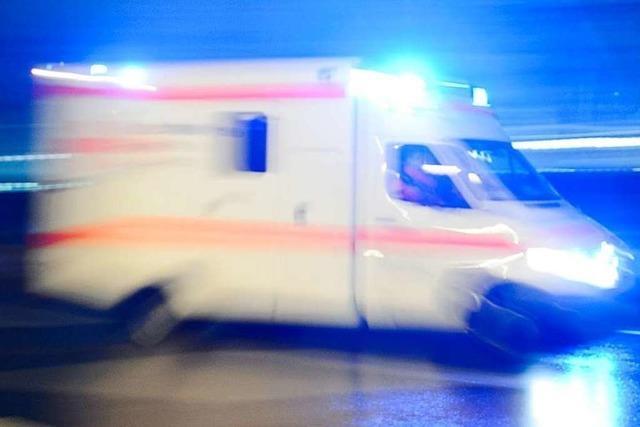 Auto überschlägt sich in Grenzach-Wyhlen
