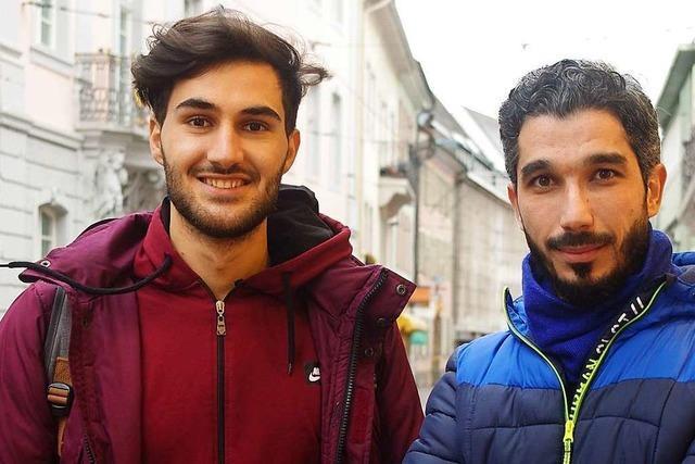 Diese Syrer sprechen in Reute über ihr Leben als Flüchtlinge