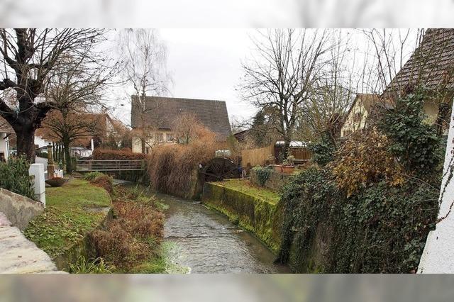 Neue Kanalisation beim Großbach