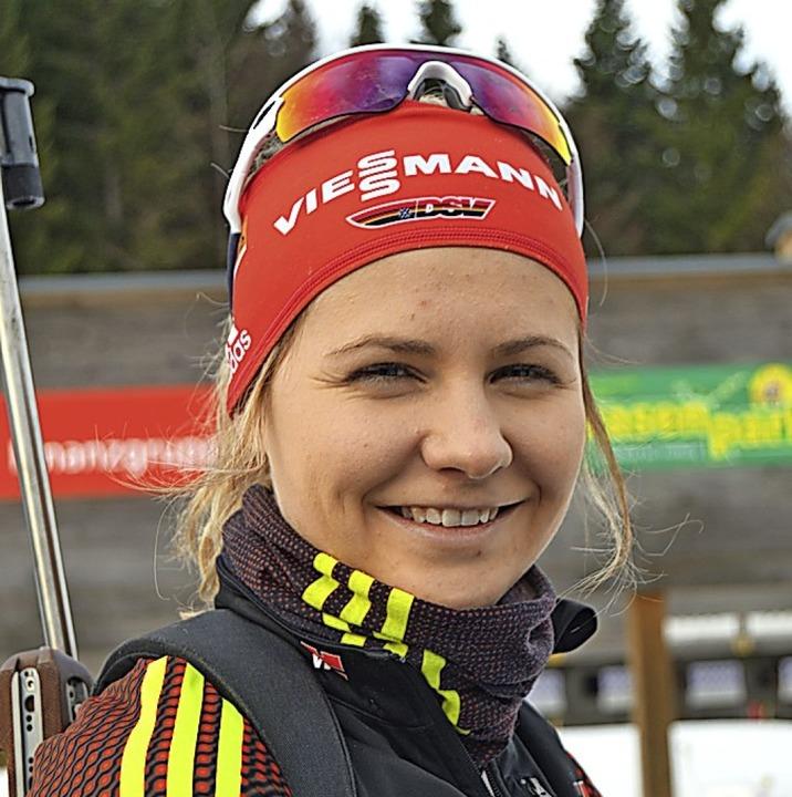Happy, wieder starten zu können: Annika Knoll  | Foto: Helmut Junkel