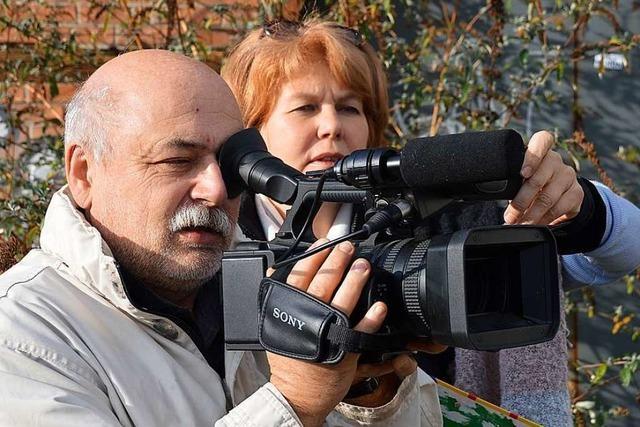 Ein Team aus Grenzach-Wyhlen dreht einen Film über Tempus fugit