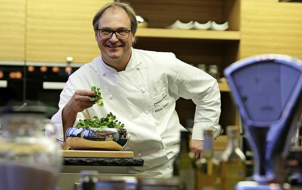 Foodstylist Andreas Miessmer wird sein Können auch auf der neuen Messe zeigen.  | Foto: Christoph Breithaupt