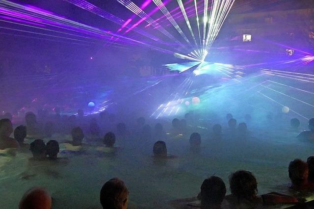 Laser-Show in der Vita Classica