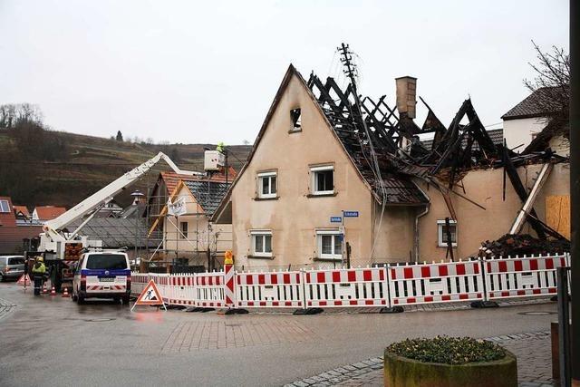 Kulturverein unterstützt vom Brand Betroffenen in Hecklingen
