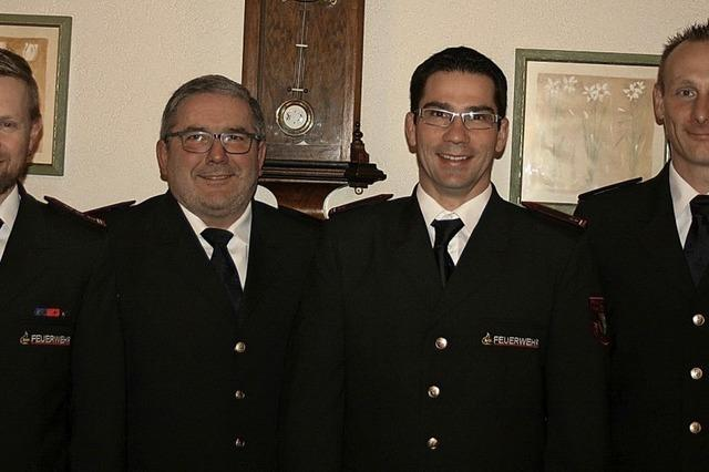 Vier neue Mitglieder für Riedlinger Wehr
