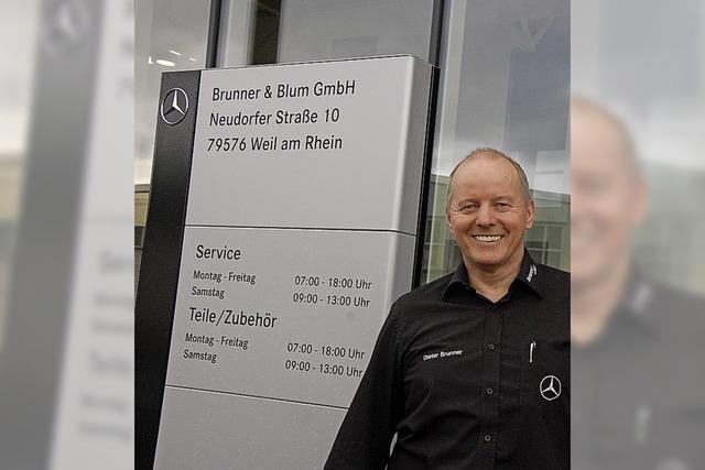 Blick in Neubau von Brunner & Blum