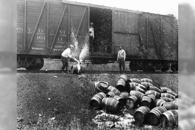 Vor 100 Jahren verboten die USA den Alkoholkonsum